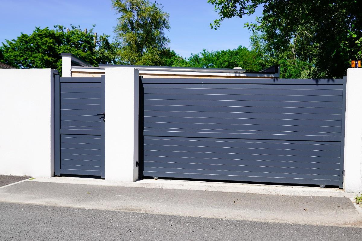 différents types de portail en aluminium dans le Battenheim (68)   Fermetures Vonthron